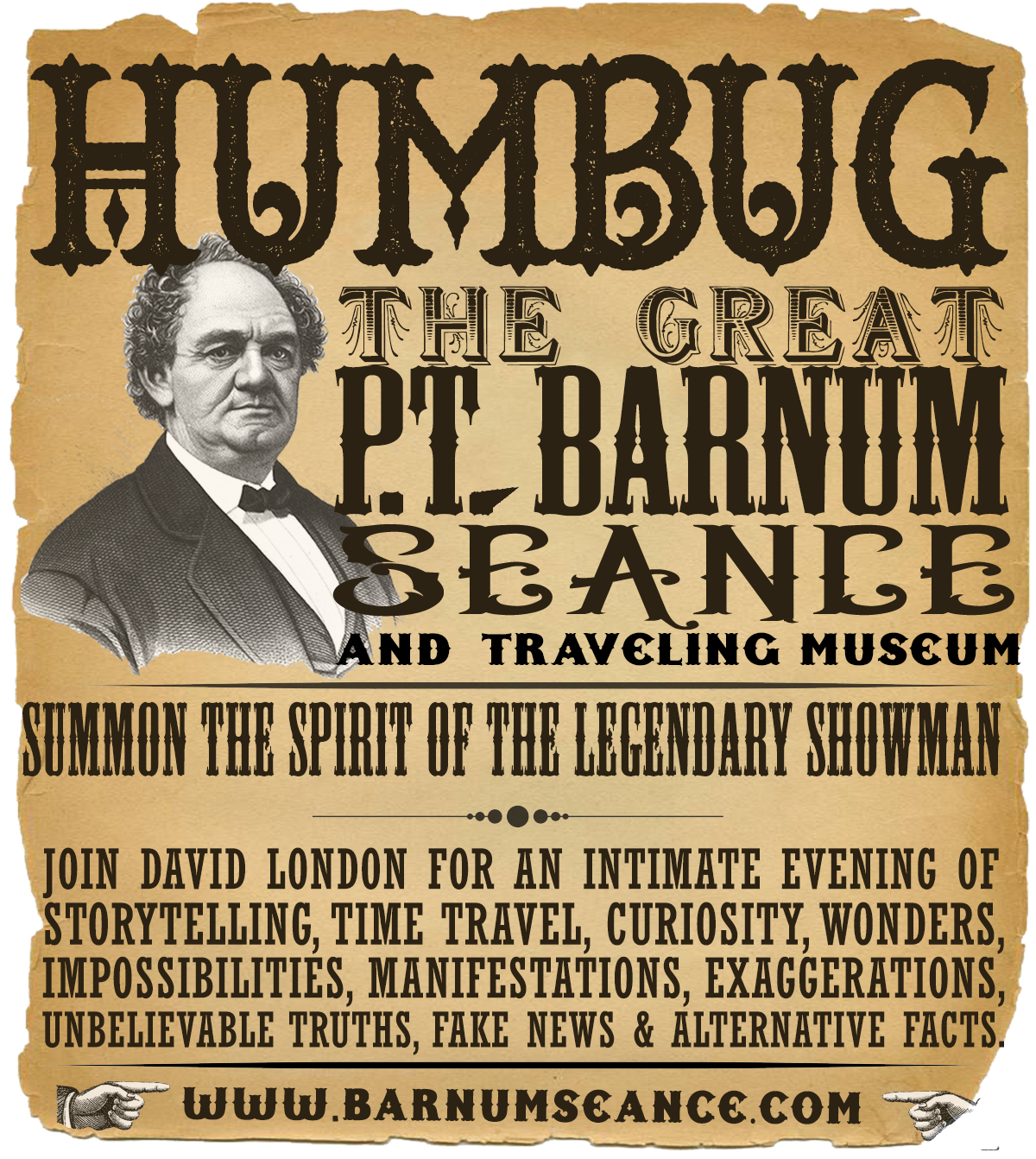 HUMBUG: The Great P.T. Barnum Seance